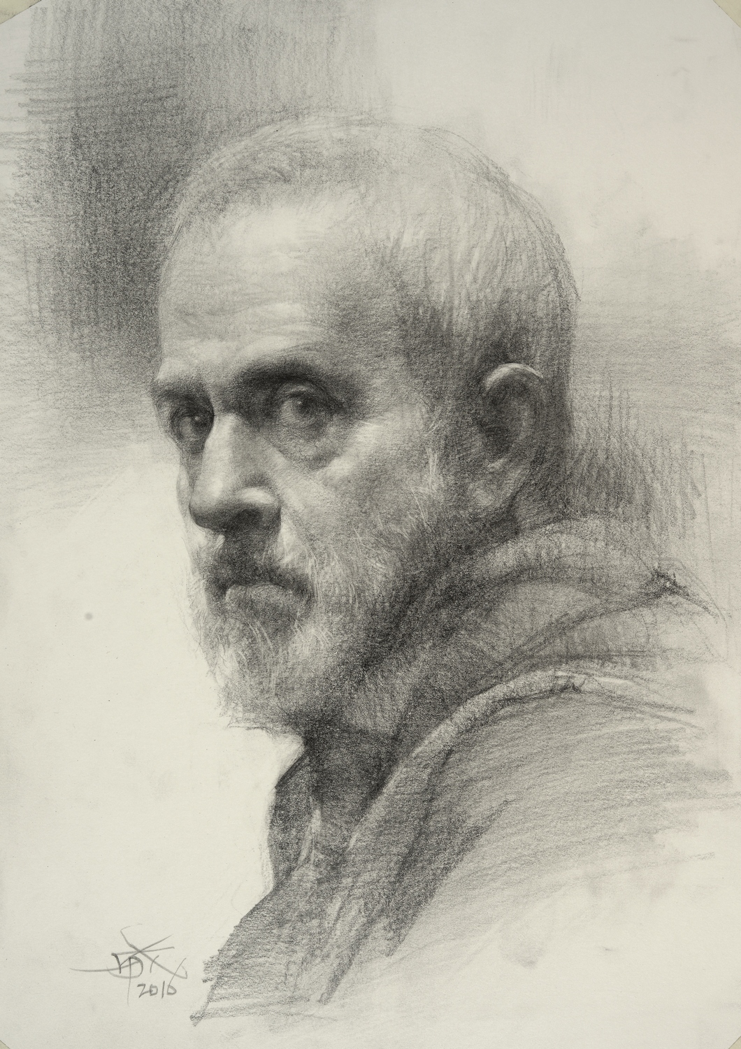 Scribble Drawing Portraits : The art of portrait and winners are
